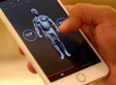 Body Scanner Results