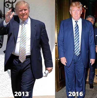 Donald Trump WeightLoss